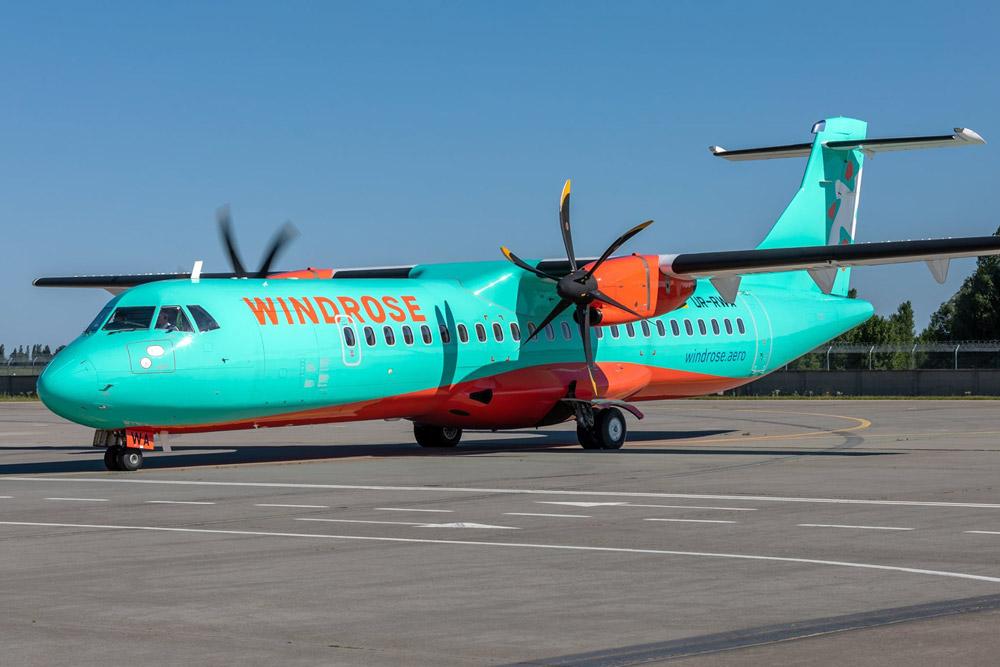 """ATR-72-600 """"Роза Ветров"""""""