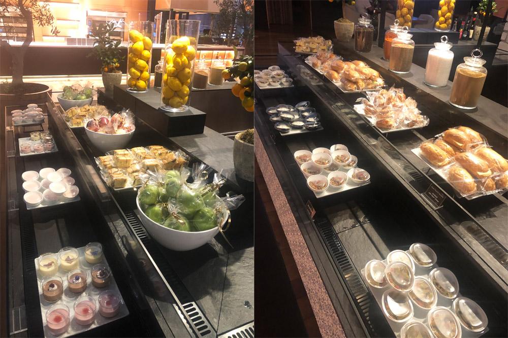 Все питание в бизнес-зале в аэропорту Стамбула упаковано