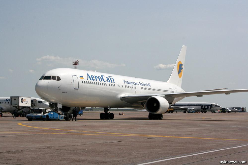 """Boeing 767-300ER """"АэроСвит"""""""