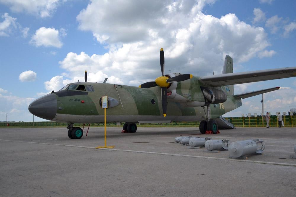 Ан-26 с бортовым номером 76