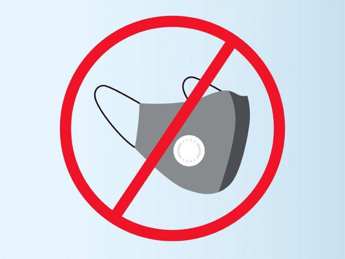 Запрет на ношение масок с клапанами ввели несколько крупных авиакомпаний