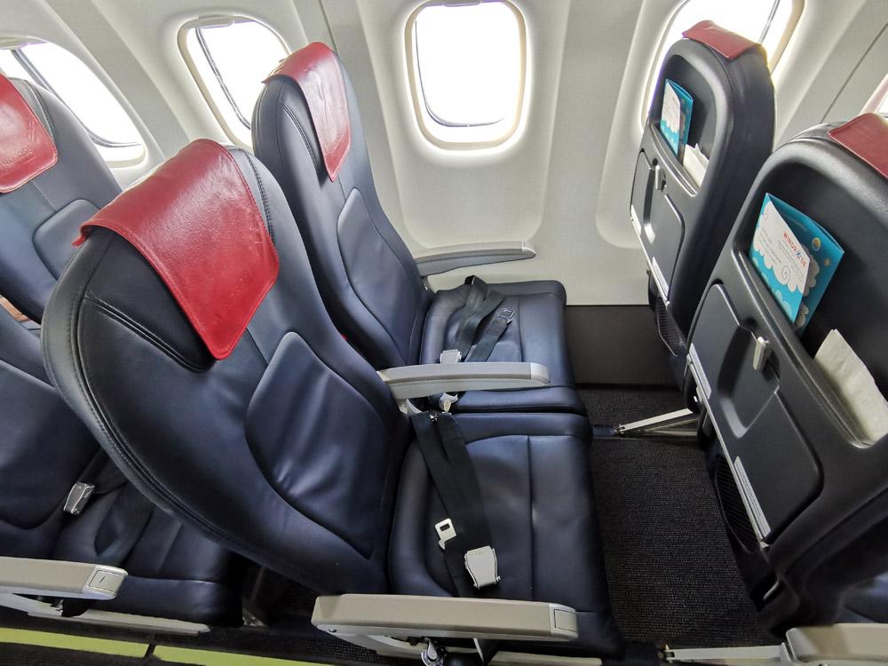 """Кресла в ATR 72-600 """"Роза Ветров"""""""