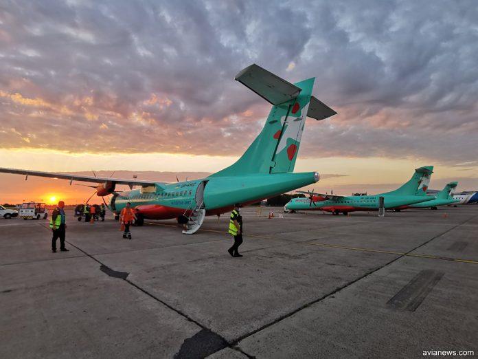 Три ATR 72-600