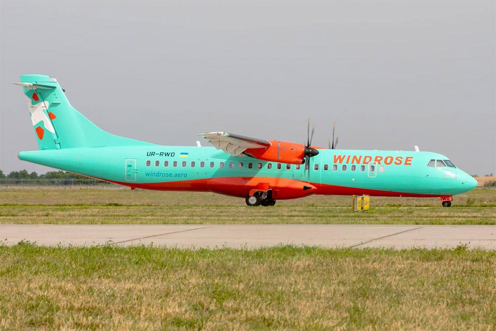 """ATR 72-600 UR-RWD """"Роза Ветров"""""""