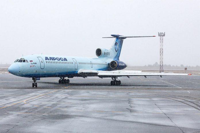 Ту-154 RA-85757