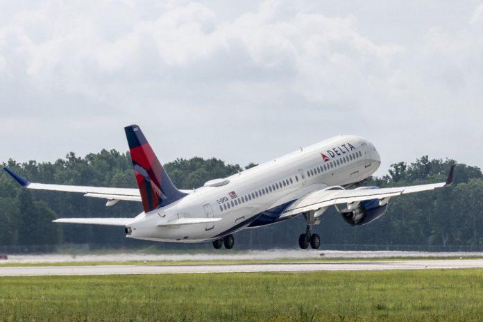 Первый собранный в США Airbus A220 Delta Air Lines