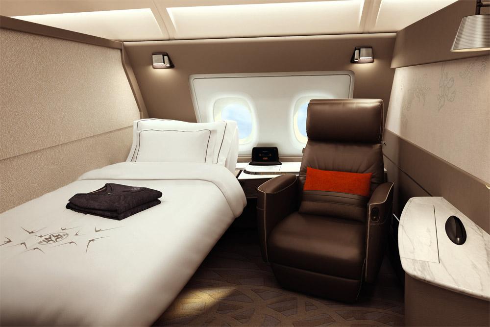 Сьют в Airbus A380 Singapore Airlines