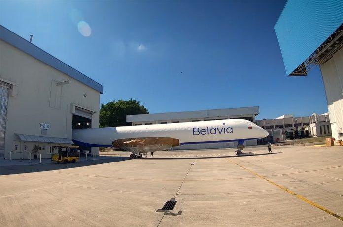 Фюзеляж первого Embraer E195-E2 для