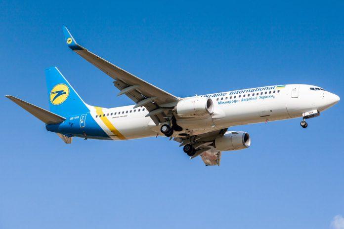 Boeing 737-800 МАУ в полете