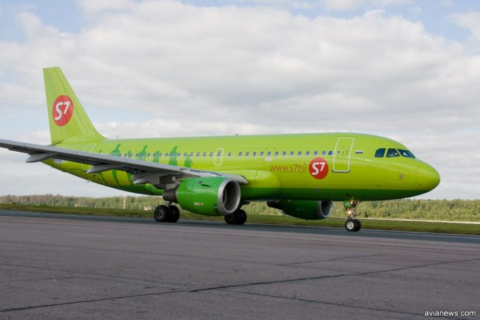 Airbus A319 S7 Airlines