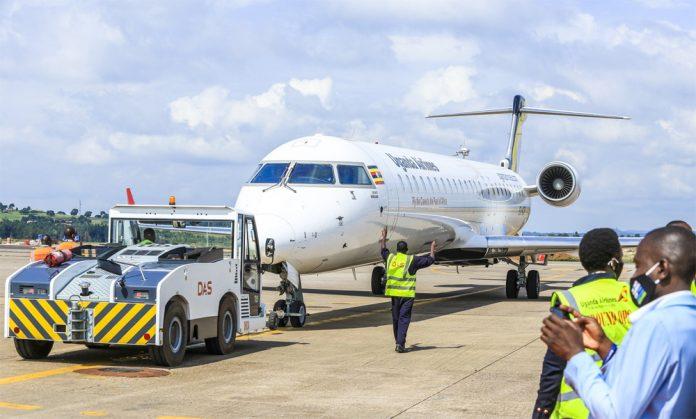 Bombardier CRJ 900 Uganda Airlines