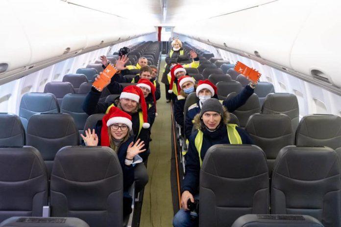 Встретить Новый 2021 год в небе смогут пассажиры рейсов Киев-Дубай авиакомпаний МАУ и flydubai