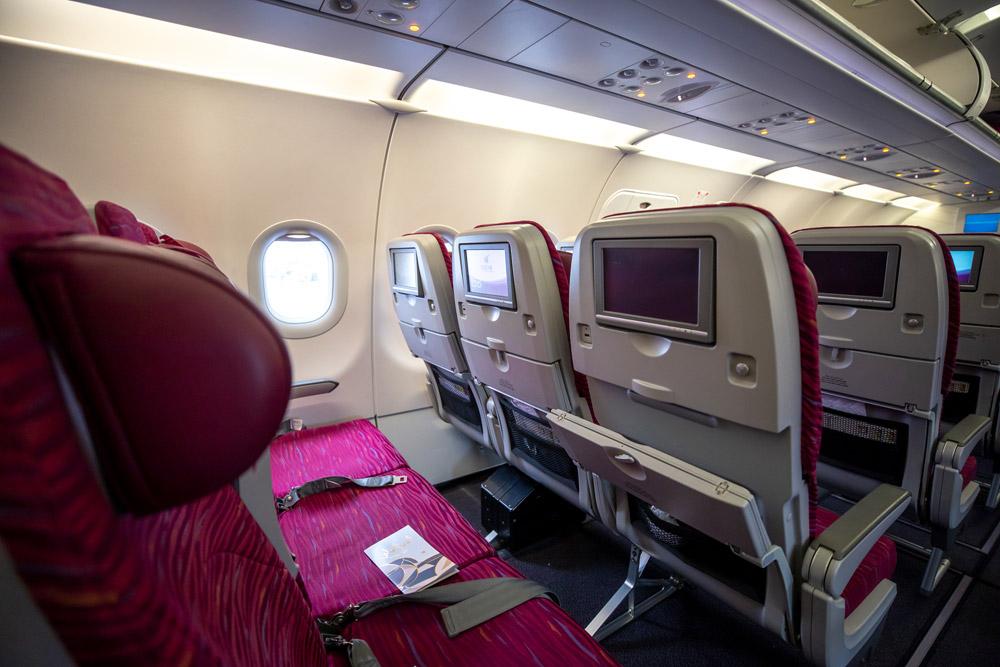 Эконом-класс в Airbus A320 Qatar Airways