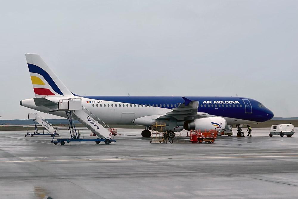 Airbus A320 Air Moldova ER-AXP