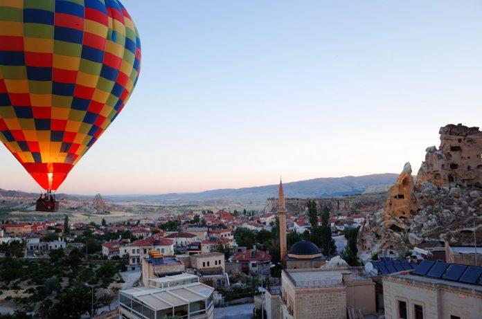 Воздушный шар в Каппадокии, Турция