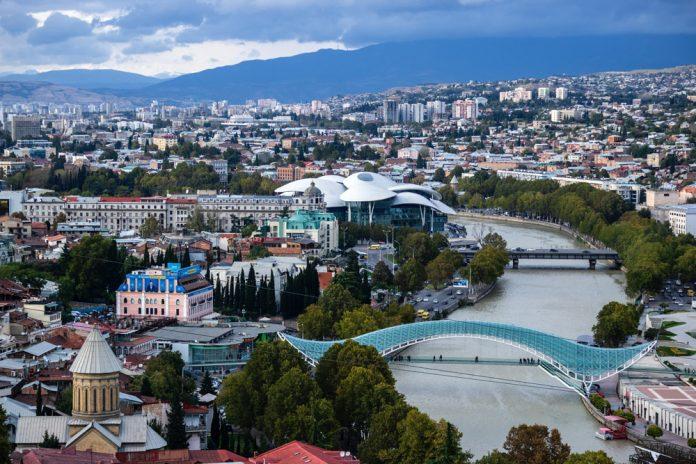 Центр Тбилиси, Грузия