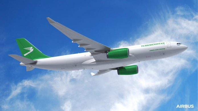 Airbus A330-200P2F Turkmenistan Airlines