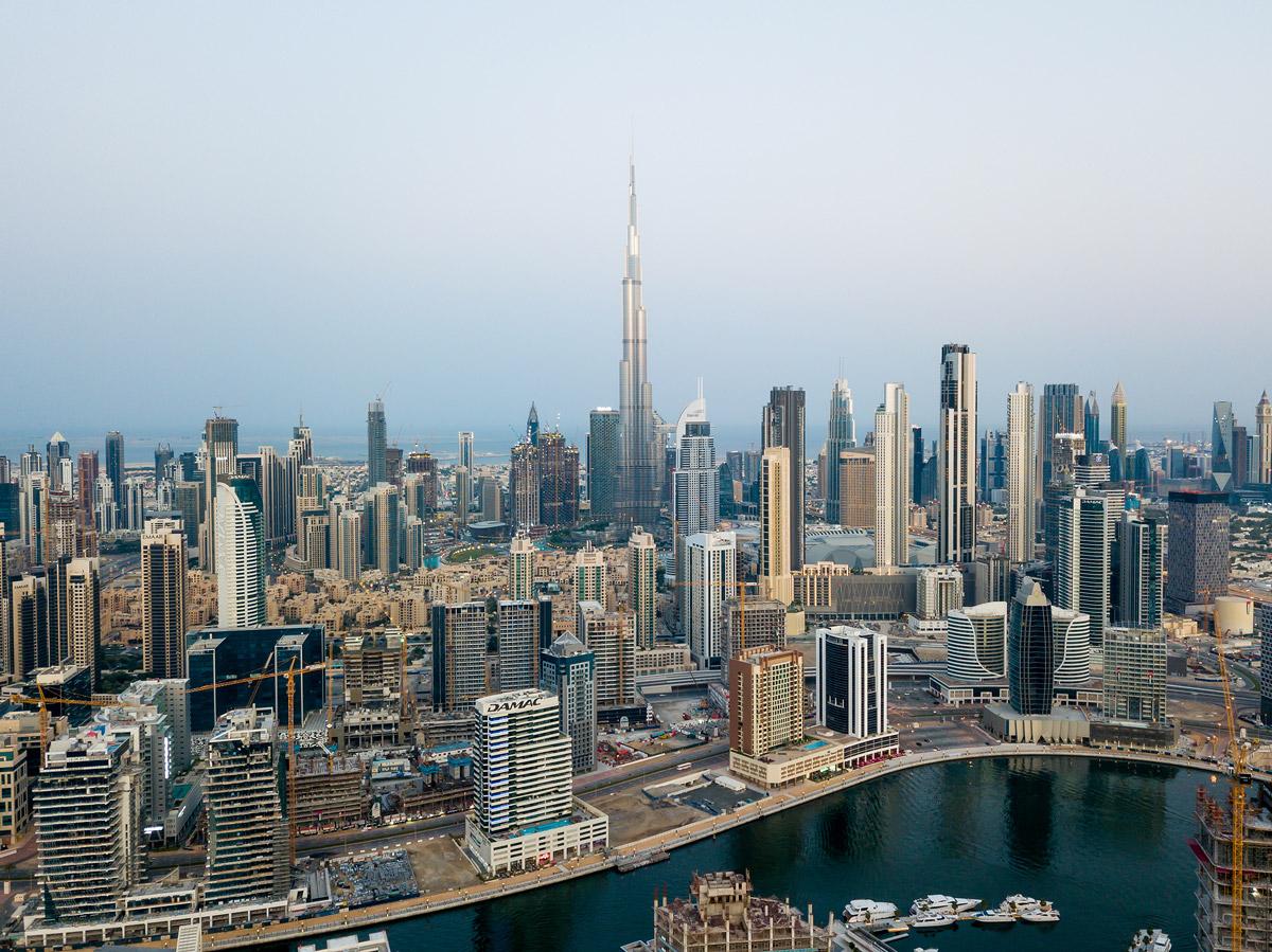 Бурдж-Халифа и другие небоскребы Дубая