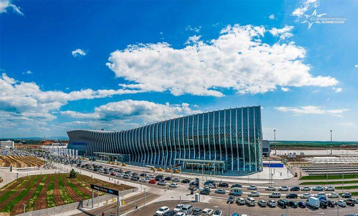 Новый терминал в аэропорту Симферополь