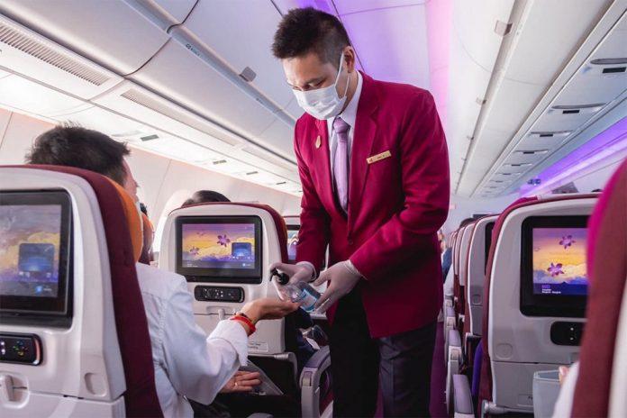 Бортпроводник Thai Airways
