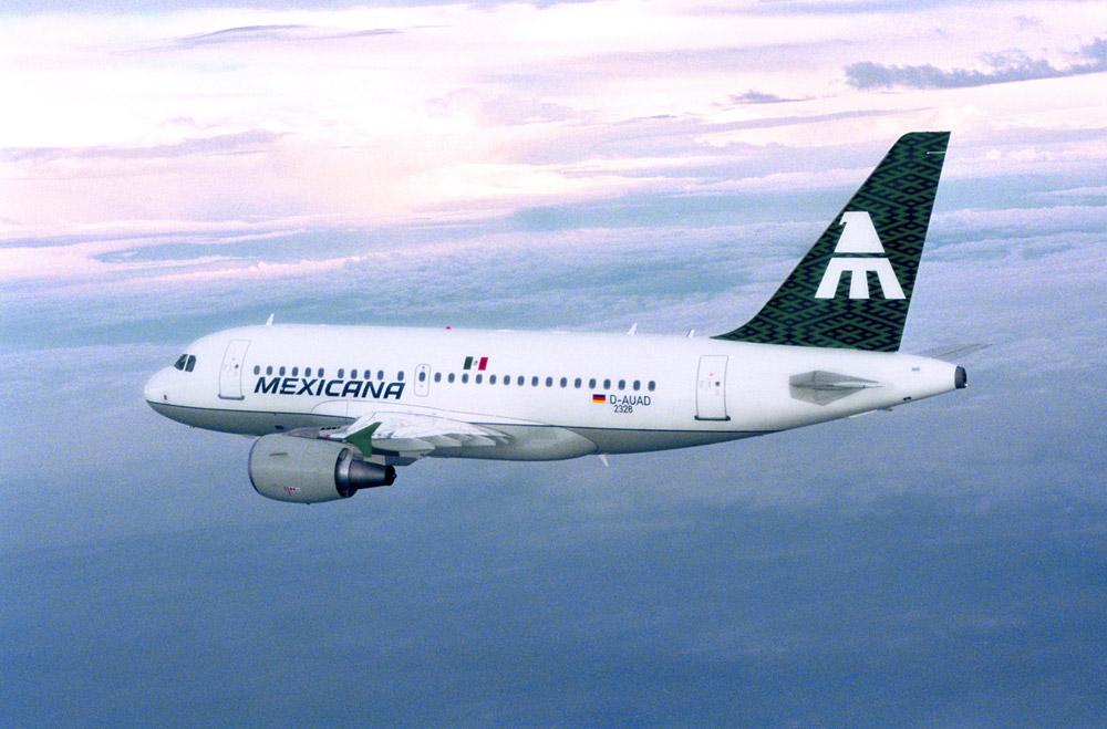 Airbus A318 Mexicana