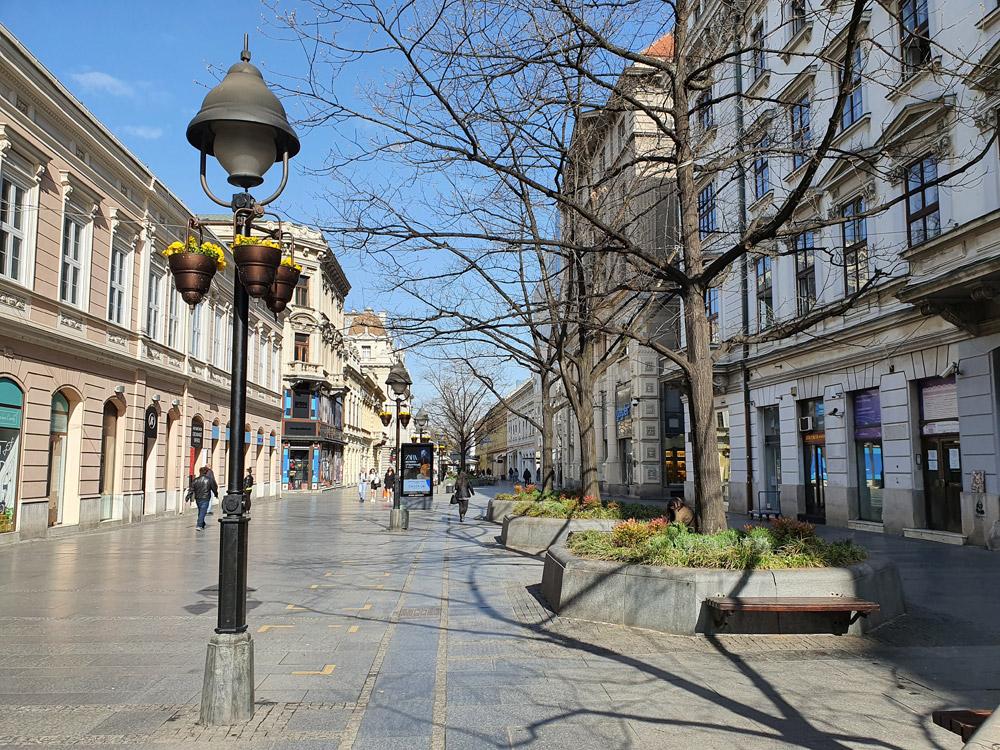 Историческая улица в Белграде
