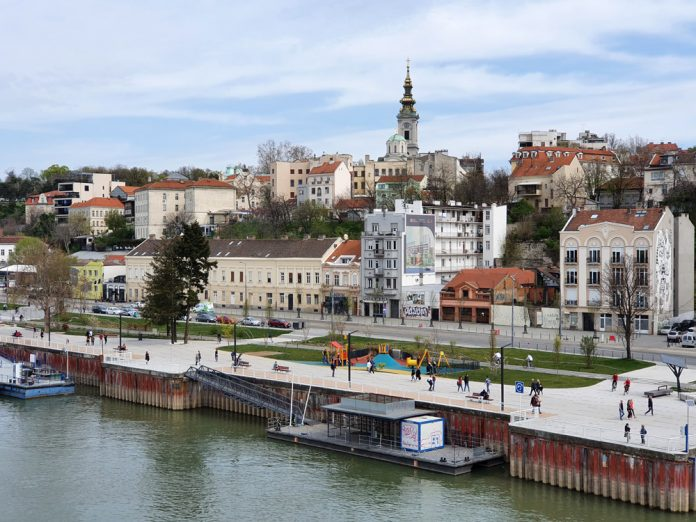 Набережная в Белграде