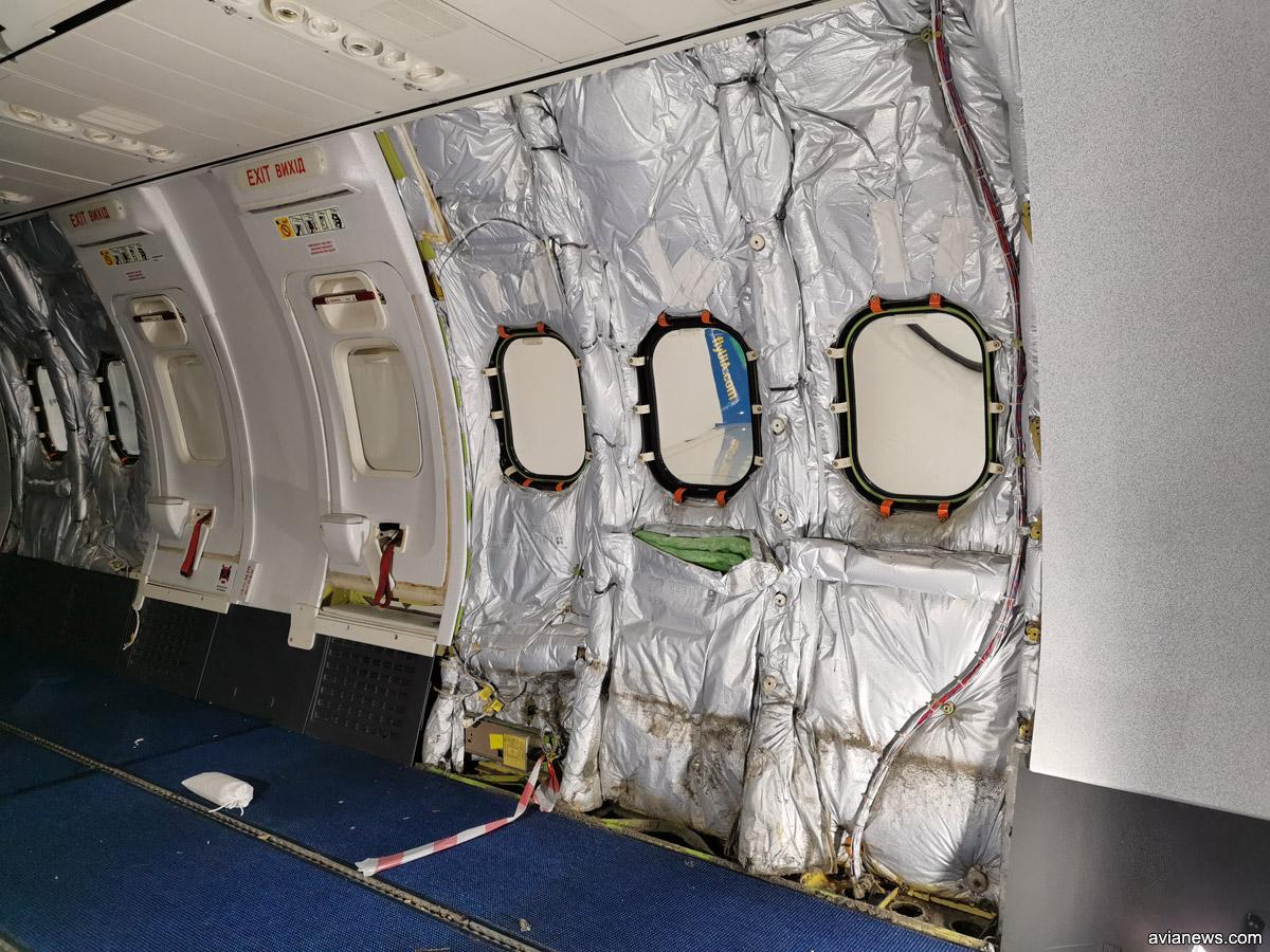 Изоляция в салоне Boeing 737