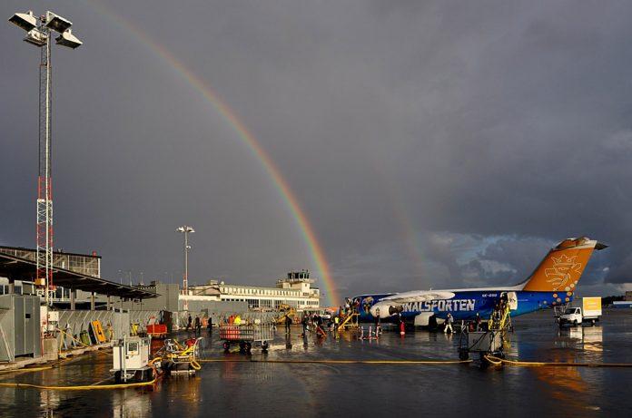 Аэропорт Бромма в Стокгольме