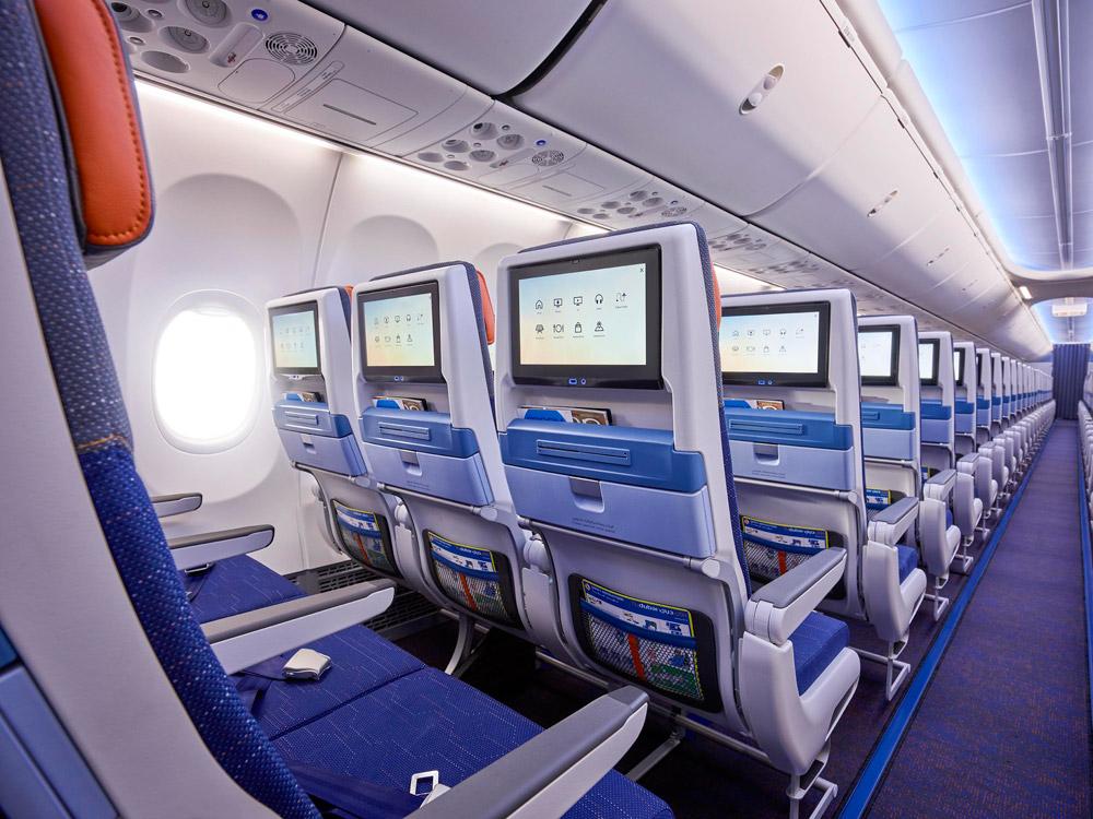 Эконом-класс в Boeing 737 MAX flydubai