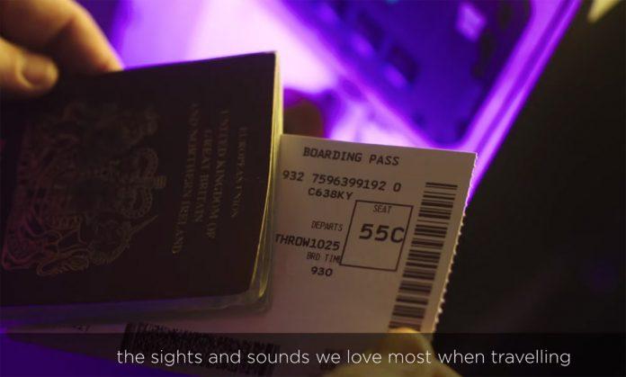 Скриншот из АСМР-видео Virgin Atlantic
