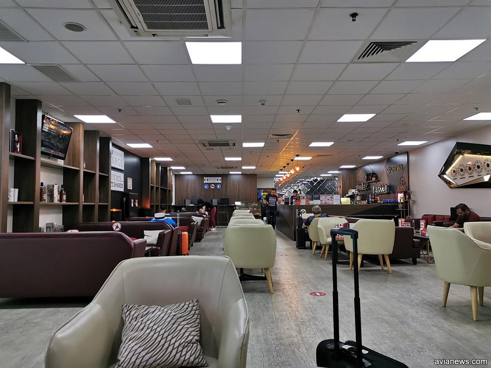 Бизнес-зал в аэропорту Алматы