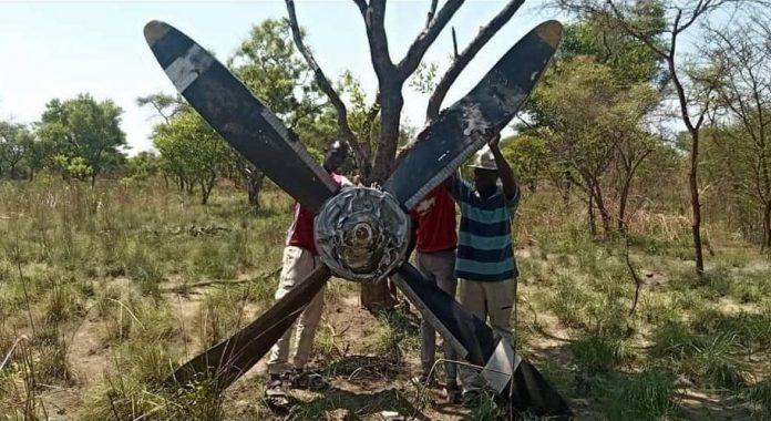 Пропеллер, который отлетел от Ан-26