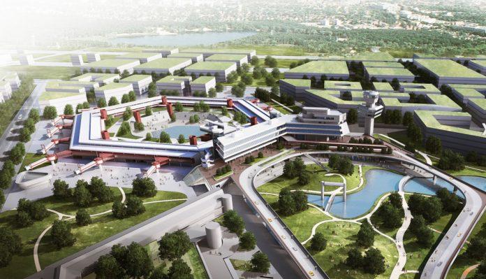 Терминал аэропорта Тегель в виде многоугольника превратят в здание университета