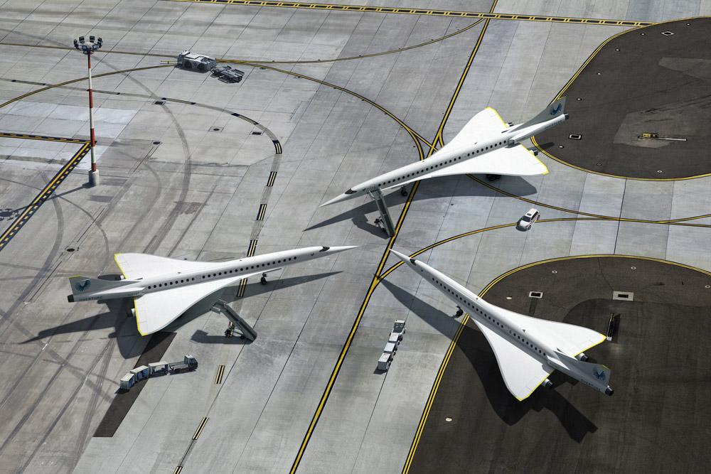 Самолеты Boom Overture