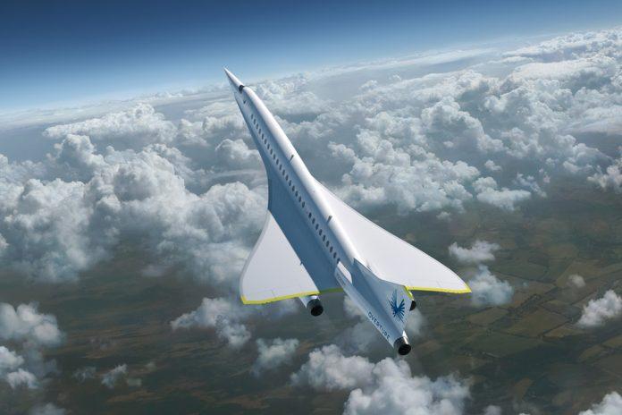 Сверхзвуковой пассажирский самолет Boom Overture