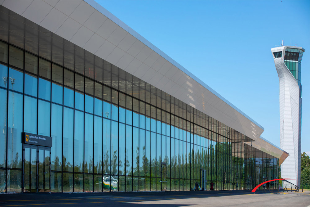 Терминал в аэропорту Кутаиси
