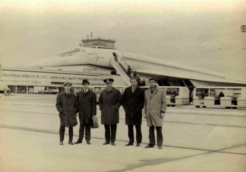 Ту-144 в аэропорту Борисполь