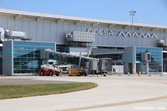 Телетрап Thyssenkrupp в аэропорту Одесса