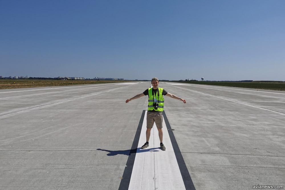 Новая полоса в аэропорту Одесса