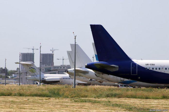 Хвосты самолетов