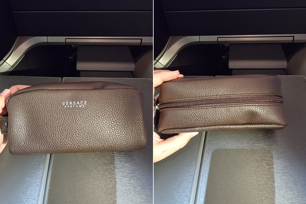 Косметичка Versace для пассажиров бизнес-класса Turkish Airlines