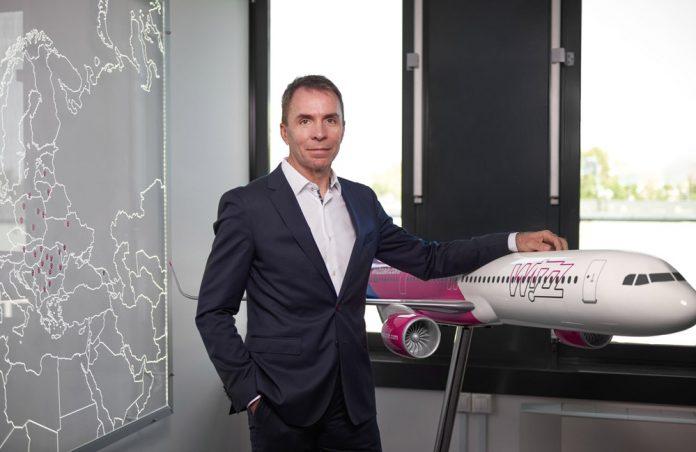 Глава Wizz Air Йожеф Варади