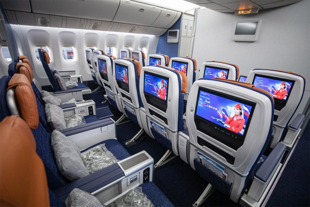 "Класс комфорт в Boeing 777-300ER ""Аэрофлота"""