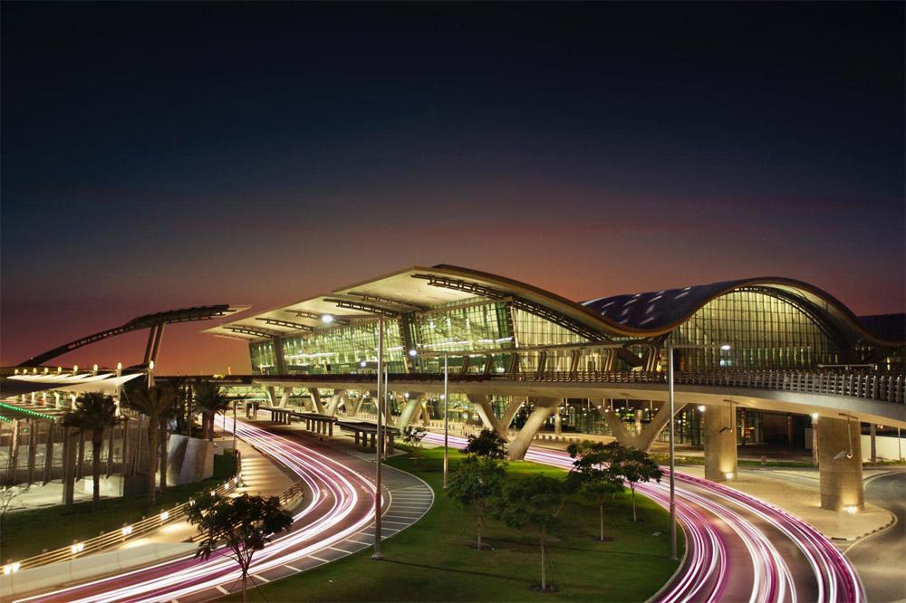 Аэропорт Хамад в Дохе