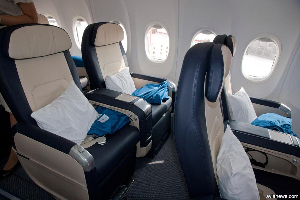 Бизнес-класс в Boeing 737-800 flydubai