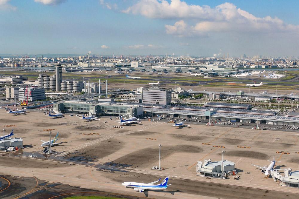 Аэропорт Ханеда в Токио