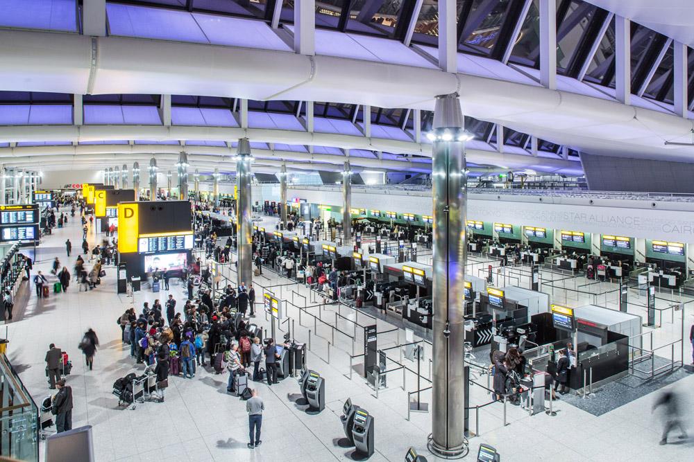 Терминал 2 в аэропорту Хитроу