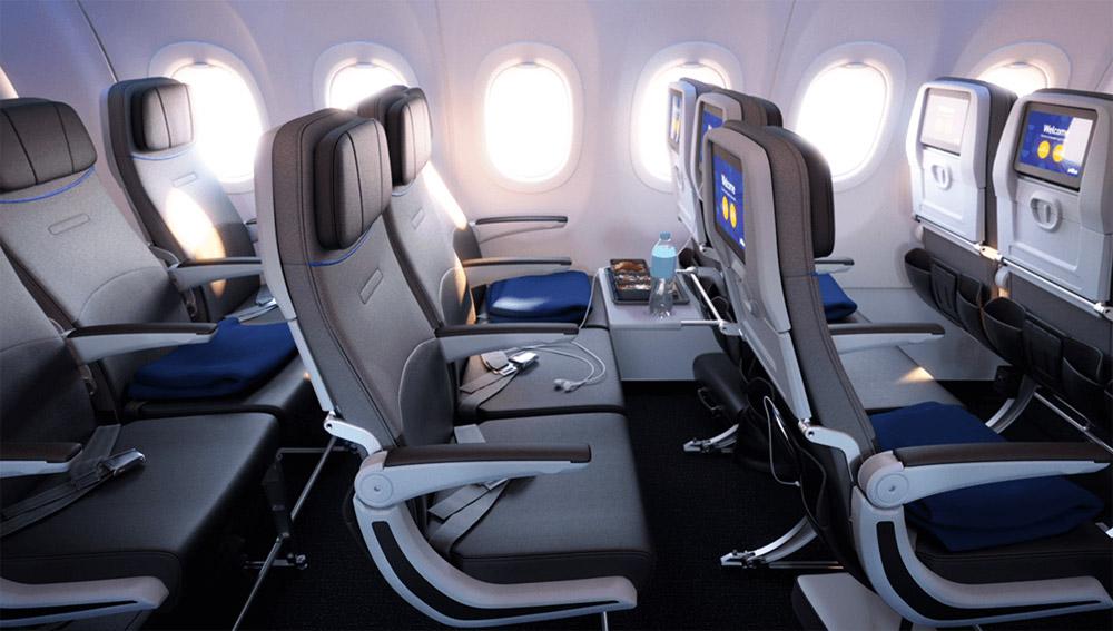 Эконом-класс в Airbus A321LR jetBlue