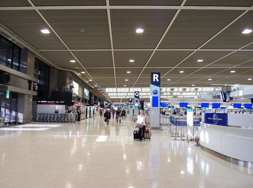 Терминал 2 в аэропорту Нарита